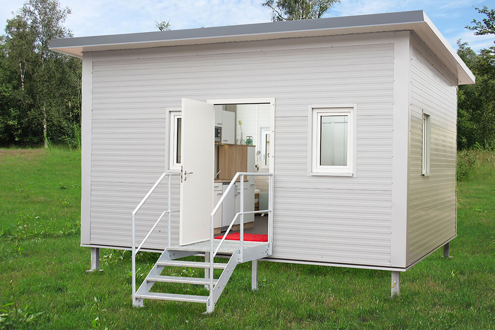 Wohncontainer Design ready to connect furnished residential container buy panel sell