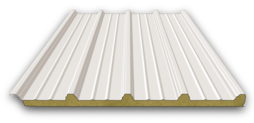 Rockwool roof panels