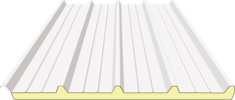 Illustration of ECO Insulated Roof Panel